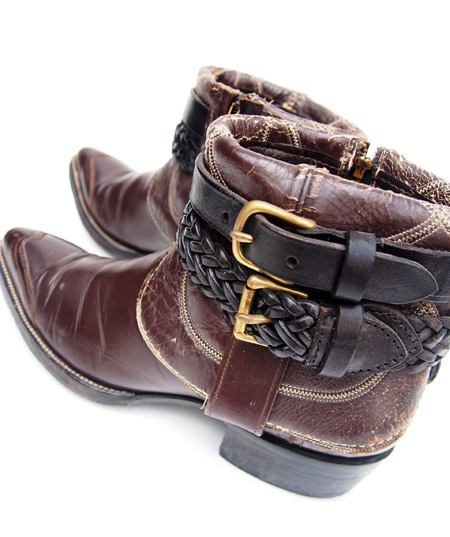 IrregulaR by ZIP STEVENSON 〔イレギュラー〕 Vintage Remake Western Boots Dark Brown / 5.5〜6(Ladies)