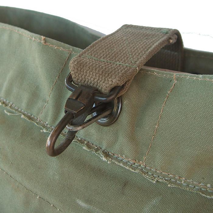 IrregulaR by ZIP STEVENSON Vintage Military Shoulder Bag #18 / Khaki