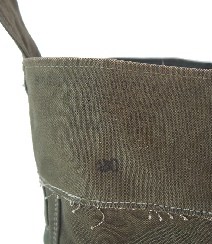 IrregulaR by ZIP STEVENSON Vintage Military Shoulder Bag #19 / Khaki