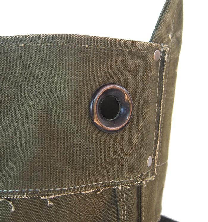 IrregulaR by ZIP STEVENSON Vintage Military Shoulder Bag #19 / Khaki