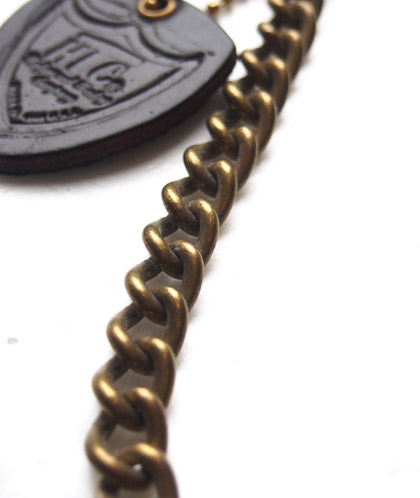 HTC Wallet Chain Small Flower #6 TQS N /  Brown