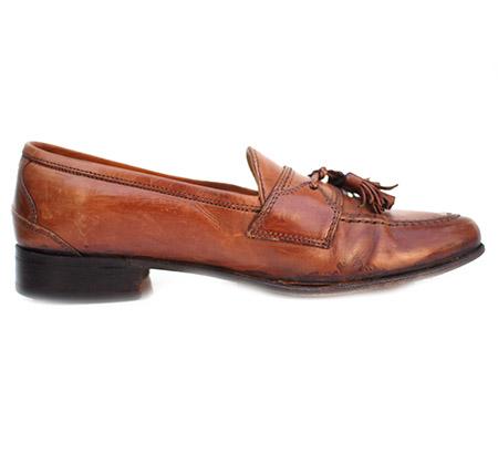 "Vintage ""JOHNSTON&MURPHY "" Leather Tassel Slipon Shoes"