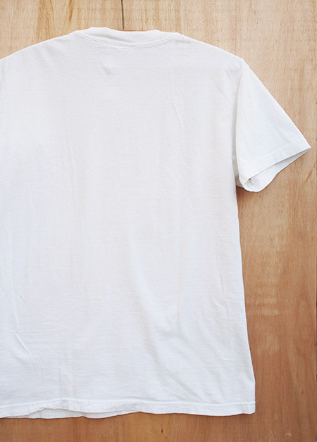 "Vintage ""Hanes"" Crew Neck T-Shirts / White"