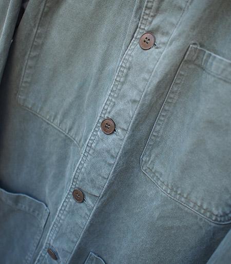 1960s Vintage France Cotton Work Jacket