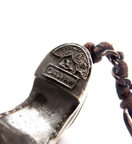 CHAFF DESIGN〔チャフ・デザイン〕 Silver Shoe Key Holder