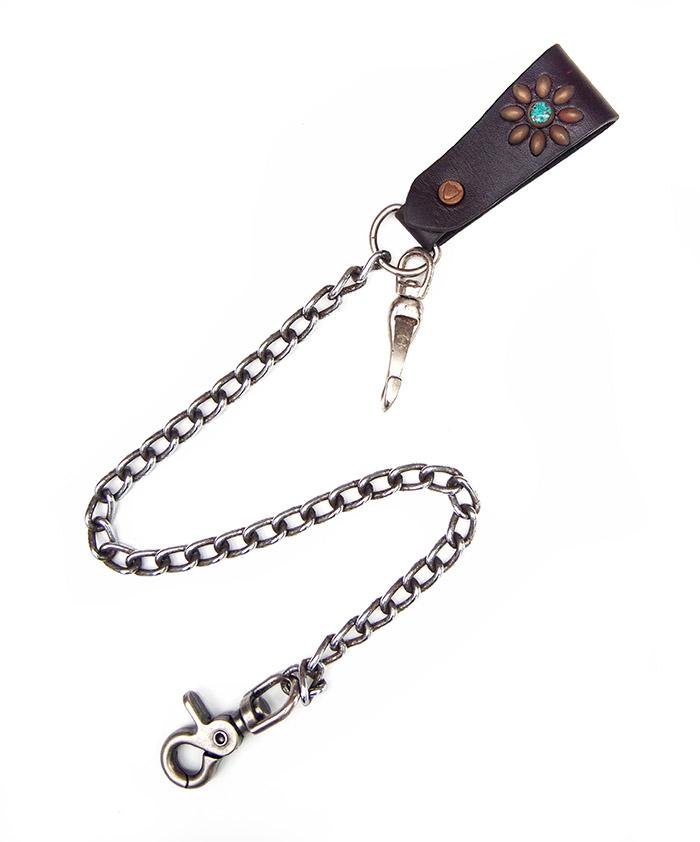 HTC Wallet Chain Flower #5 TQS MIX / D Brown