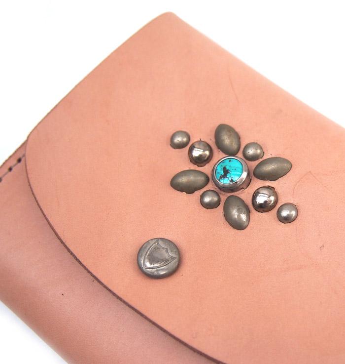 HTC SUNSET Mini Wallet Studs / Natural