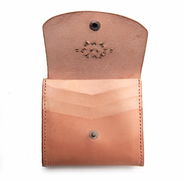 HTC SUNSET Mini Wallet Studs / Natural