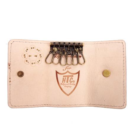 HTC Key Case Flower Suede #2 TQS B / Camel