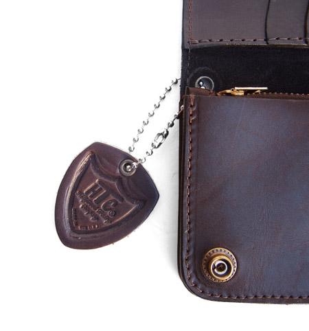 HTC Long Wallet Flower Suede #5 TQS B / Brown
