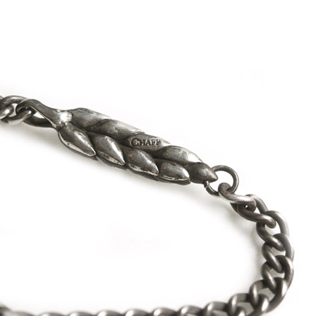 CHAFF DESIGN〔チャフ・デザイン〕Middle Wheat Chain Bracelet
