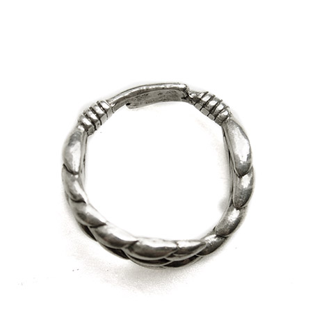 CHAFF DESIGN〔チャフ・デザイン〕Silver Wheat Twin Ring