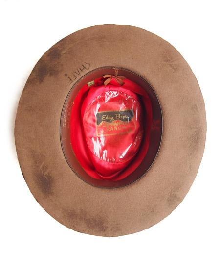 CHAFF DESIGN〔チャフ・デザイン〕 Vintage Remake Custom Long Brim Hat / Brown