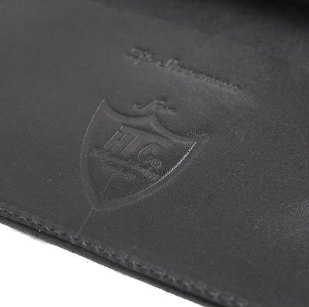 HTC Long Wallet Flower & Umbrella Suede mix #6 BLACK N / Brown