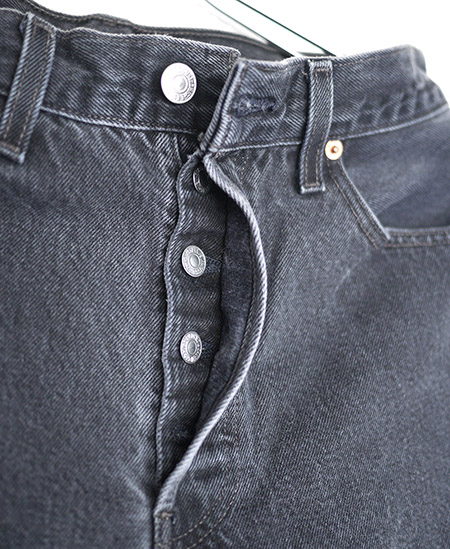 HTC DENIM DOCTORS〔エイチティーシー・デニムドクターズ〕 デニム Vintage Remake Shadow Poket Black Denim / LEVIS