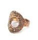 ◆Sample Sale◆CHAFF DESIGN African folk coin Gold Ring