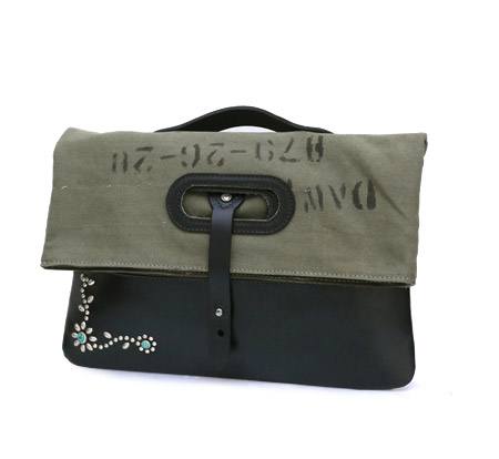 HTC Clutch Bag 2way Military #2 TQS N / Khaki