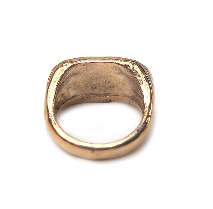 ◆Sample Sale◆CHAFF DESIGN African hieroglyph Gold Ring