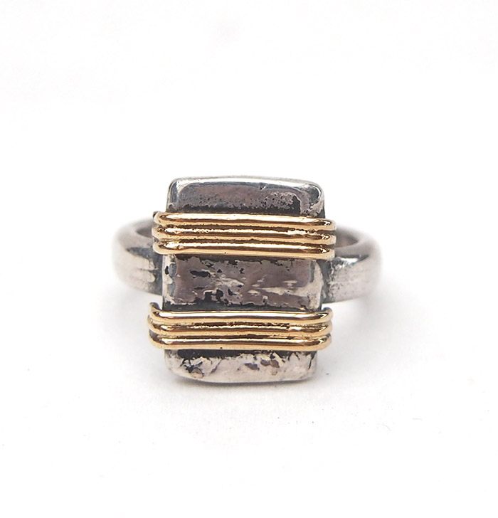 ◆Sample Sale◆CHAFF DESIGN W  Gold Coil Ring