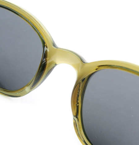 "Zip Collection〔ジップコレクション〕""AO""1960s Vintage Dead Stock Sunglasses/Green"