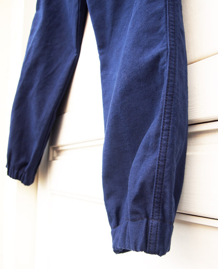 HTC DENIM DOCTORS 〔エイチティーシー・デニムドクターズ〕 パンツ Vintage Remake Cotton Jodhpurs Pants / Navy