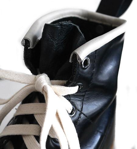 "IrregulaR by ZIP STEVENSON 【イレギュラー】 別注 ヴィンテージリメイク ホワイトソールジャンプブーツ""ターコイズストーン"" 2016�/ US8.5"