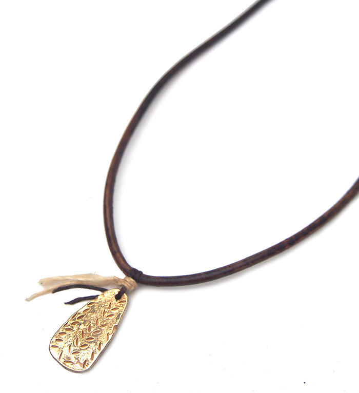 ◆Sample Sale◆CHAFF DESIGN African Wheat Gold Necklace