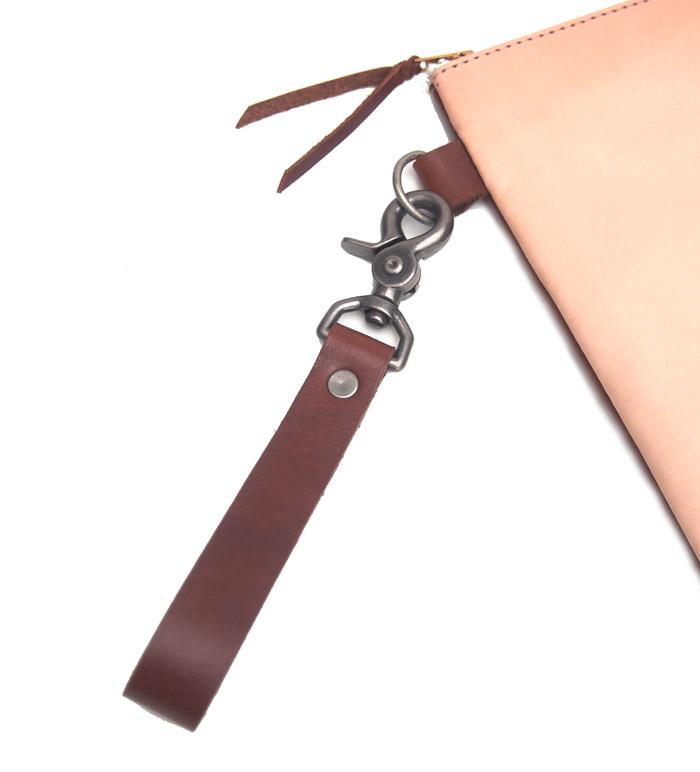 HTC SUNSET Clutch Bag  Emblem / Natural