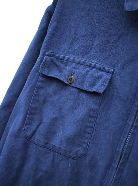 Vintage Moleskin Zip Up Jacket