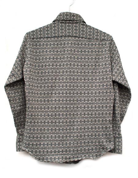 "1970s Vintage ""McGREGOR"" L/S Long Point Collar  Shirts"