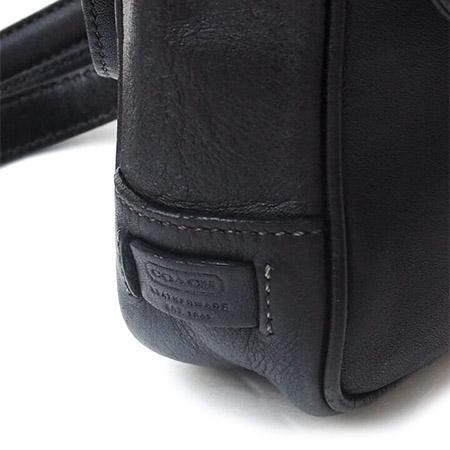 "PANTY Original Design ""OLD COACH"" Vintage Remake Studs Leather Pochette / No.11"