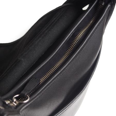 """PANTY Original Design """"OLD COACH"""" Vintage Remake Studs Leather Shoulder Bag / No.16"""