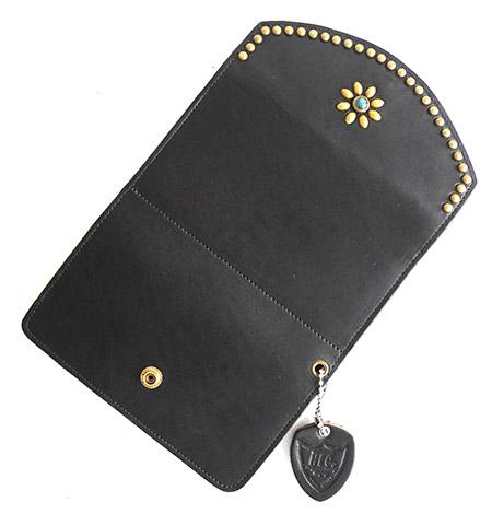 HTC Long Wallet Flower & Round #2 TQS B / D Brown