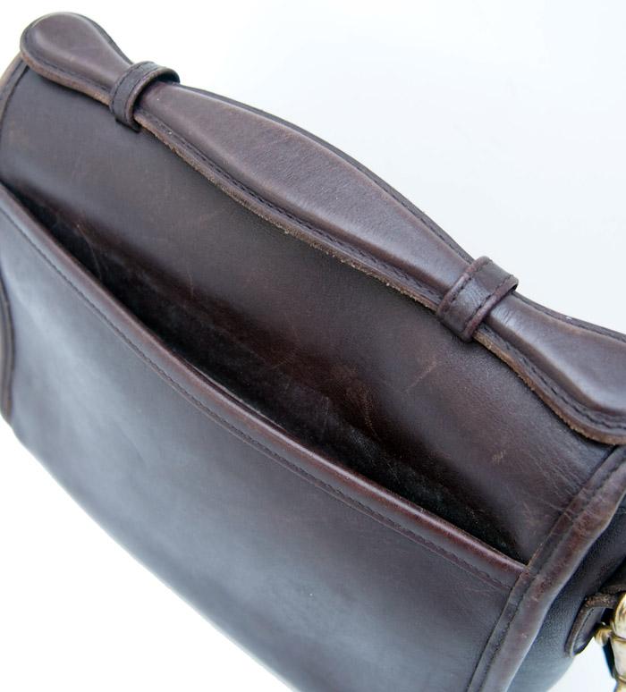 "PANTY Original Design ""OLD COACH"" Flower Studs Bag / No.30"
