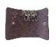 HTC SUNSET Key Case Flower Leather #1 TQS N / D Brown