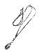 CHAFF DESIGN〔チャフ・デザイン〕Silk Drop Labradorite Leaf Necklace