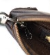 HTC SUNSET Zipper Key Case Flower #4 TQS N / DK Brown