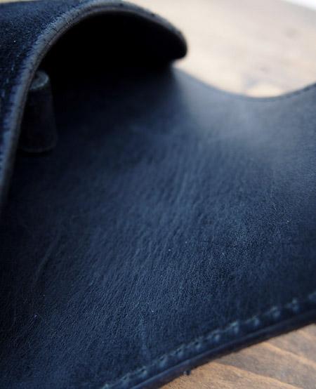 HTC 〔エイチティーシー〕 サングラスケース 別注 Suede on Turquoise Concho / Black