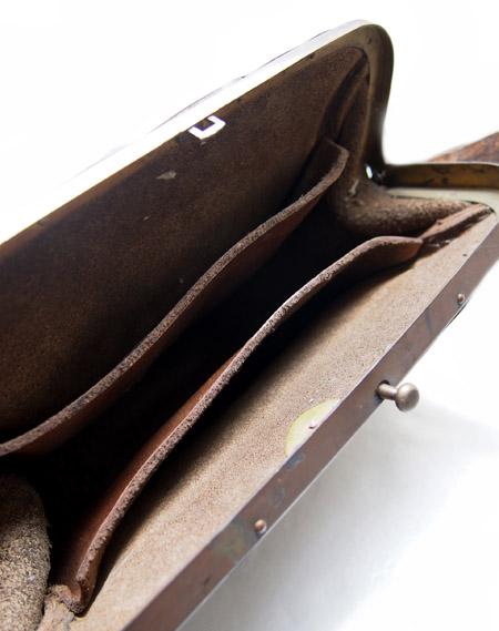 1920~30s Vintage France Ticket Bag