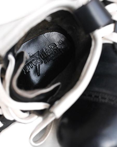 "IrregulaR by ZIP STEVENSON 【イレギュラー】 別注 ヴィンテージリメイク ホワイトソールジャンプブーツ""ターコイズストーン"" 2016�/ US7.5"