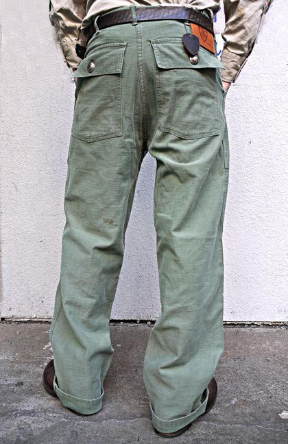 HTC 〔エイチティーシー〕 パンツ VINTAGE REMAKE BAKER PANTS   ON STUD