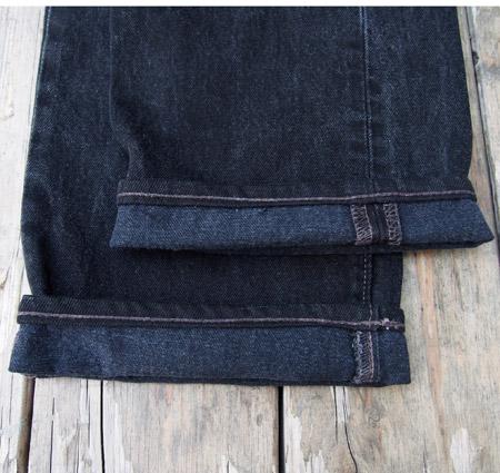 HTC 〔エイチティーシー〕  Vintage Remake  Black Denim Pants