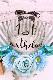 1歳のお誕生日☆白い羽根入りバルーン
