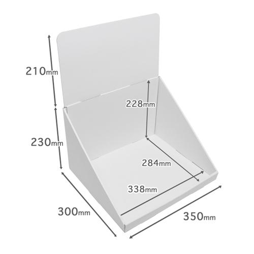 卓上什器ひな壇なし(W350*D300*H440)