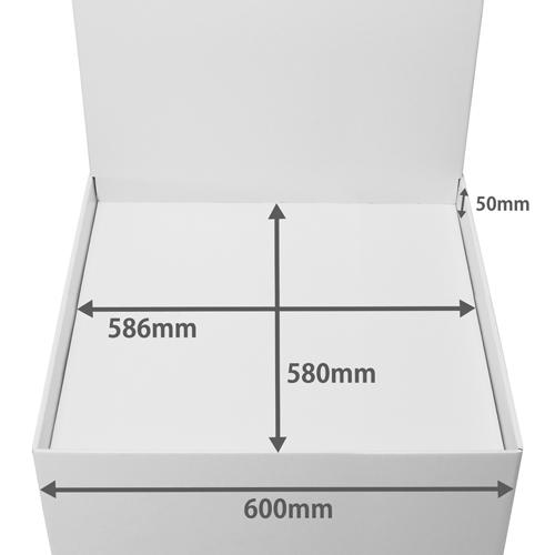 背ボード付き平置台 (W600*D600*H1180)
