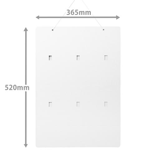 フックボード(W365*H520)
