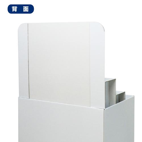 背ボード/ひな壇付き平置台(W600*D450*H1280)