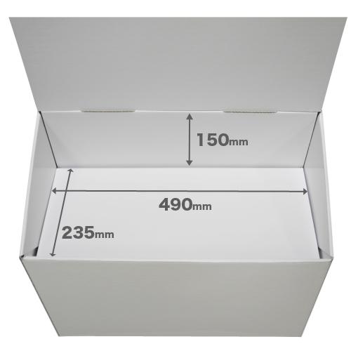 フロア什器一体型ひな壇なし(W500*D250*H950)