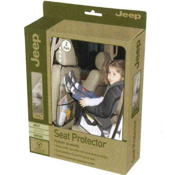 ジープ シート プロテクター マット キックガード バックポケット 車用 収納ポケット 2枚組 JEEP 90108