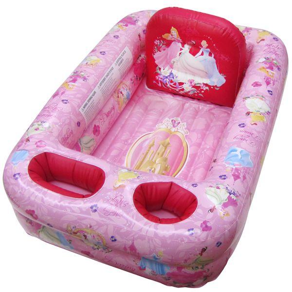 ディズニー プリンセス ベビーバス 1歳から お風呂 キャラクター セーフティ バスタブ プール 沐浴用 浴槽